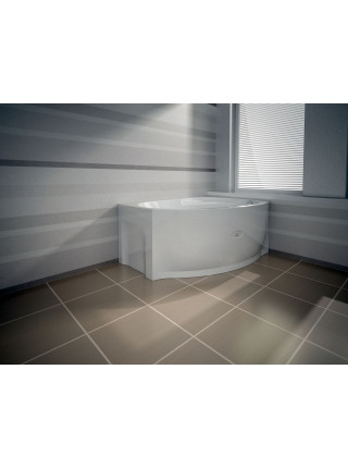 Гидромассажная ванна Wachter Монти 150х105 правая Chrome