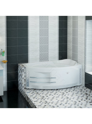 Гидромассажная ванна Wachter София 169х99 правая Chrome