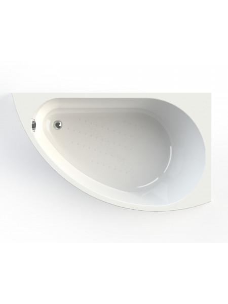 Акриловая ванна Vannesa Бергамо 168х100 правая