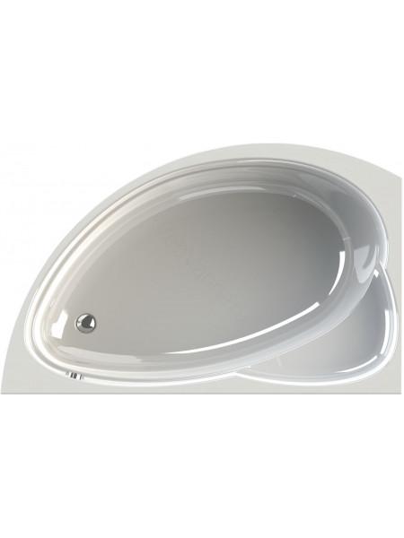 Акриловая ванна Vannesa Модерна 160х100 левая