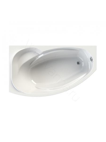Акриловая ванна Vannesa София 169х99 левая