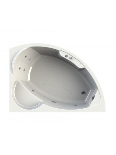 Гидромассажная ванна Wachter Алари 168х120 правая Chrome
