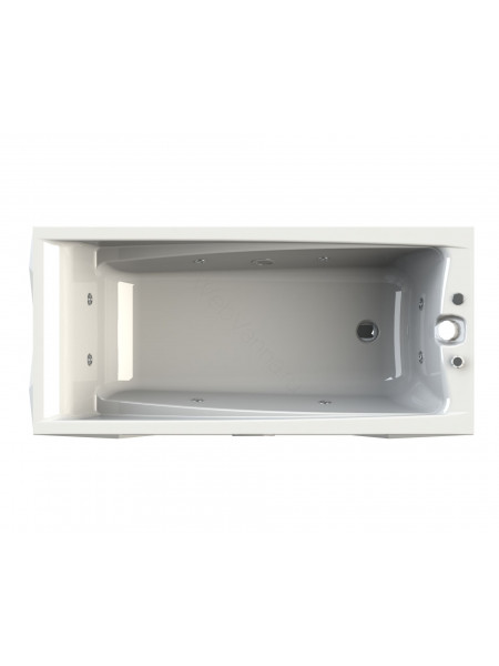Гидромассажная ванна Wachter Фелиция 160х75 Chrome