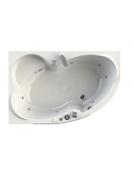 Гидромассажная ванна Wachter Ирма 1 169х110 левая Chrome