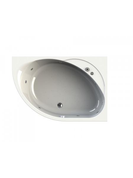 Гидромассажная ванна Wachter Мелани 140х95 правая Chrome