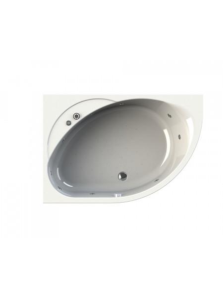 Гидромассажная ванна Wachter Мелани 140х95 левая Chrome