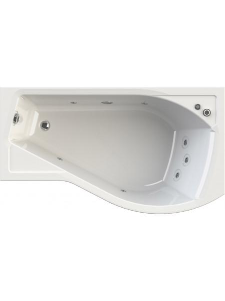 Гидромассажная ванна Wachter Миранда 168х95 правая Chrome