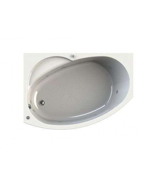 Гидромассажная ванна Wachter Монти 150х105 левая Chrome
