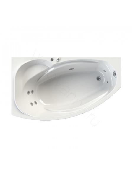 Гидромассажная ванна Wachter София 169х99 левая Chrome