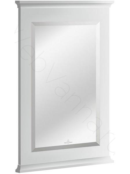 Зеркало Villeroy&Boch Hommage 8565 00 МТ, 56 см, белое матовое