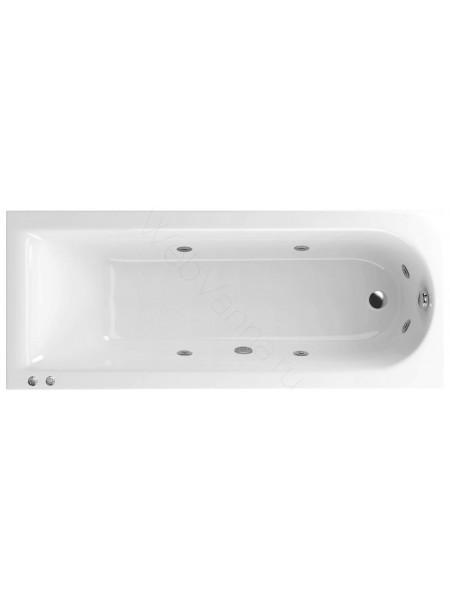 Акриловая ванна Actima Aurum 170х70 Hydro