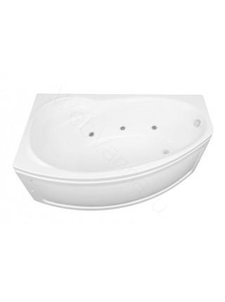Акриловая ванна Aquanet Jersey 170x90, левая/правая, с каркасом