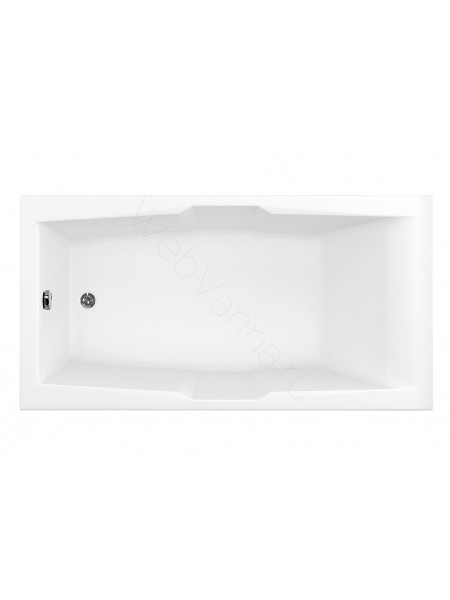 Акриловая ванна Aquanet Vega 190x100, с каркасом