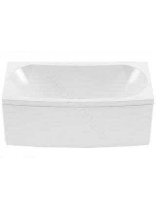 Акриловая ванна Aquanet Izabella 160x70/75, с каркасом