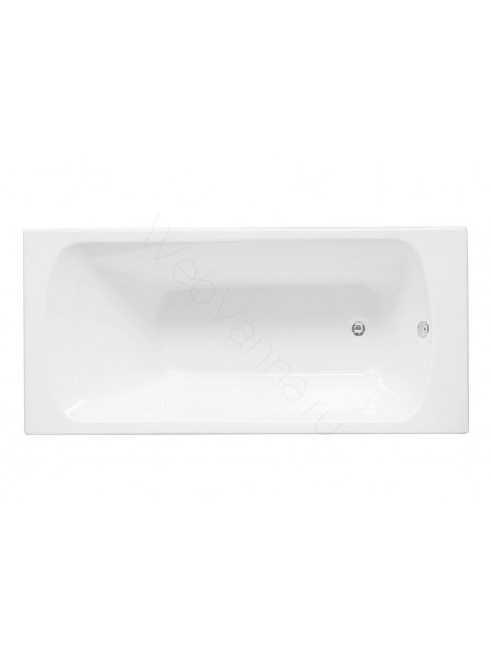 Акриловая ванна Aquanet Roma 160x70, с каркасом