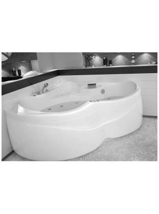 Акриловая ванна Aquanet Bellona 165x165, с каркасом