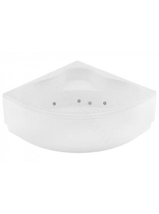 Акриловая ванна Aquanet Santiago 160x160, с каркасом