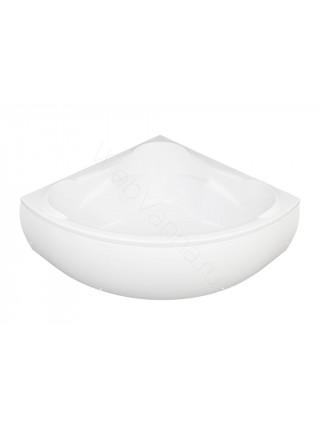 Акриловая ванна Aquanet Flores 150x150, с каркасом