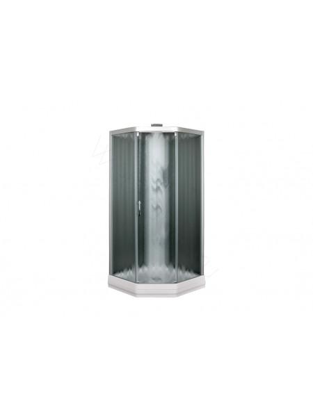 Душевая кабина Aquanet Penta 2 Rain 90x90,тонированное стекло