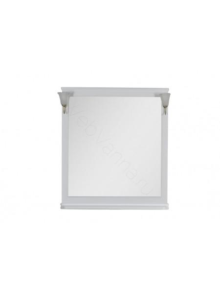Зеркало Aquanet Валенса 100 см, белый матовый