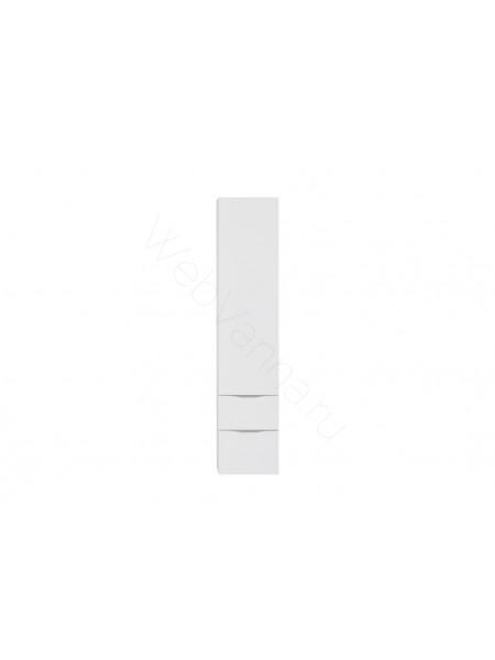 Пенал Aquanet Эвора 40 см, белый