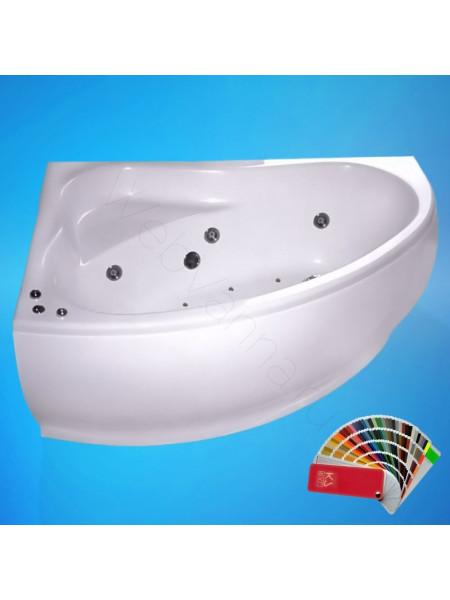 Ванна Аквапласт Супер Диана 170х120, с каркасом, левая
