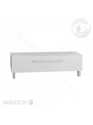 Комод с ящиком Акватон Мадрид М, 100 см, белый