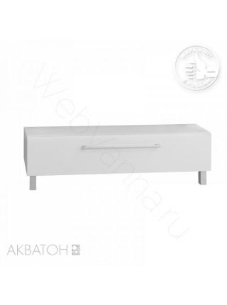 Комод с ящиком Акватон Мадрид М, 120 см, белый