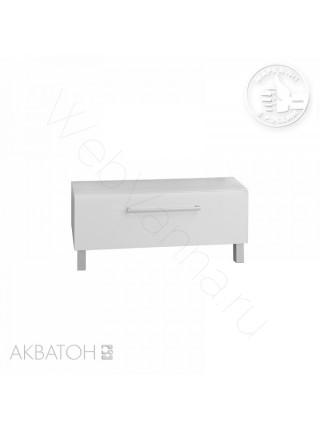 Комод с ящиком Акватон Мадрид М, 80 см, белый