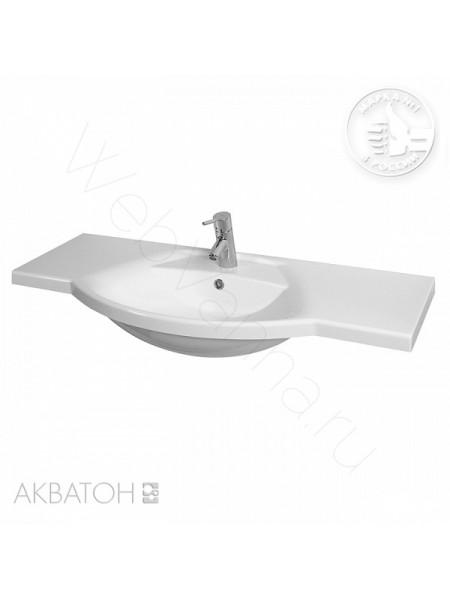 Раковина мебельная Акватон Лацио 110 см, белая