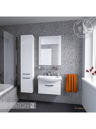 Зеркало Акватон Ария 65 см, белое