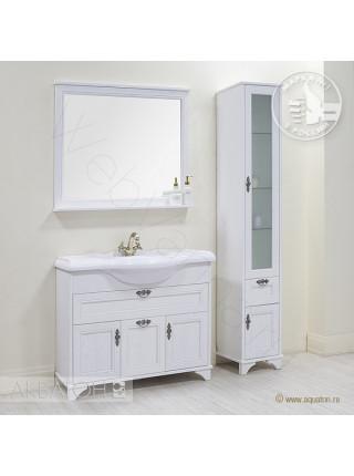 Зеркало Акватон Идель 105 см, дуб белый