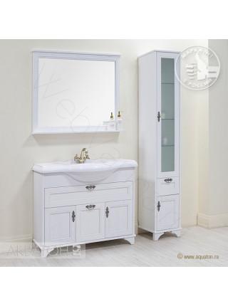 Зеркало Акватон Идель 85 см, дуб белый