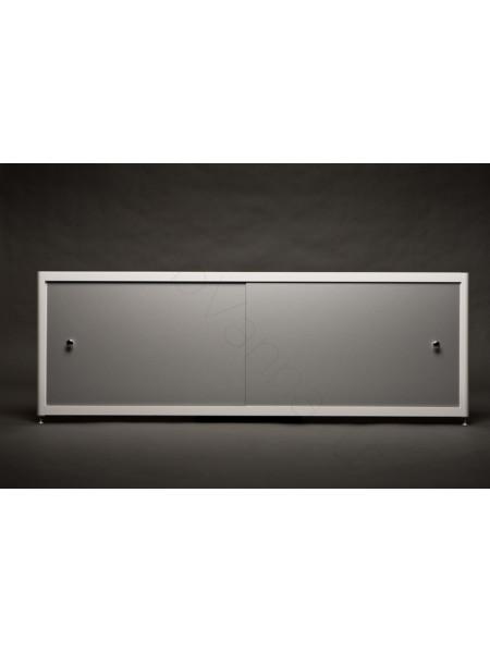 Экран под ванну A-Screen Алюминий 2 дв. шир. от 1501 до 1700 мм, выс. до 650 мм.