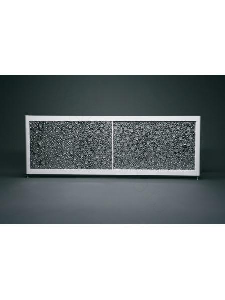 Экран под ванну A-Screen Bubble silver 2 дв. шир. от 1501 до 1700 мм, выс. до 650 мм.