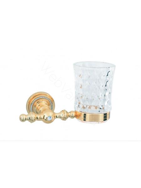 Стакан для зубных щеток Boheme Imperiale золото