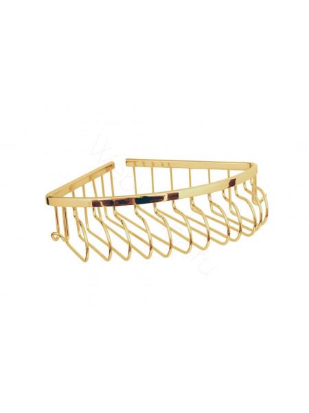 Угловая полка(металл) Boheme Imperiale золото