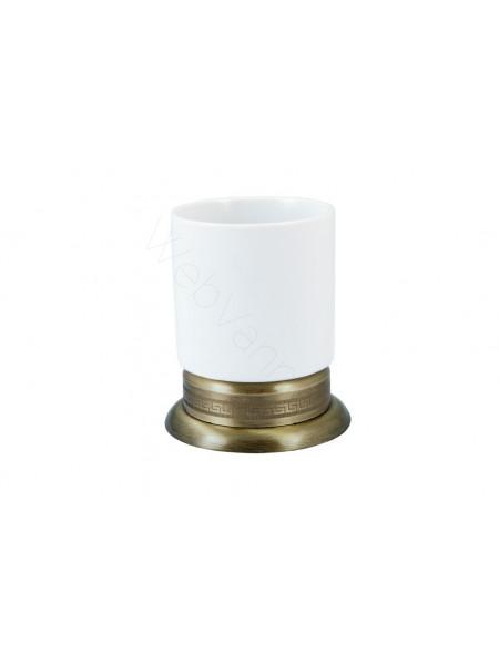 Настольный стакан для зубных щеток Boheme Medici бронза