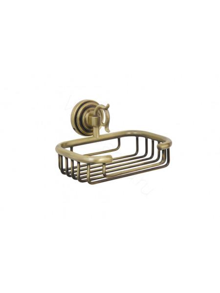 Настенный держатель для губки(металл) Boheme Medici бронза