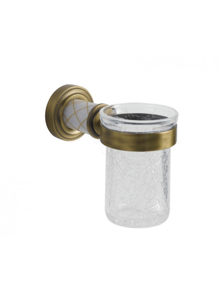 Стакан для зубных щеток Boheme Murano бронза