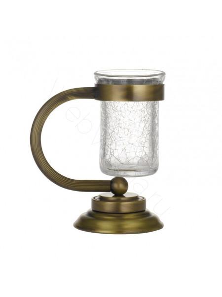 Настольный стакан для зубных щеток Boheme Murano бронза