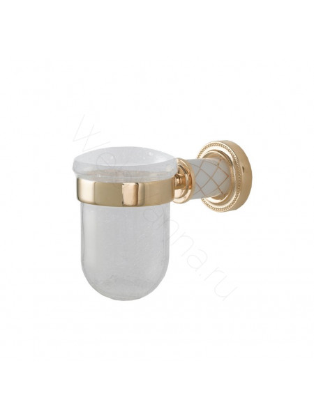 Стакан для зубных щеток Boheme Murano золото