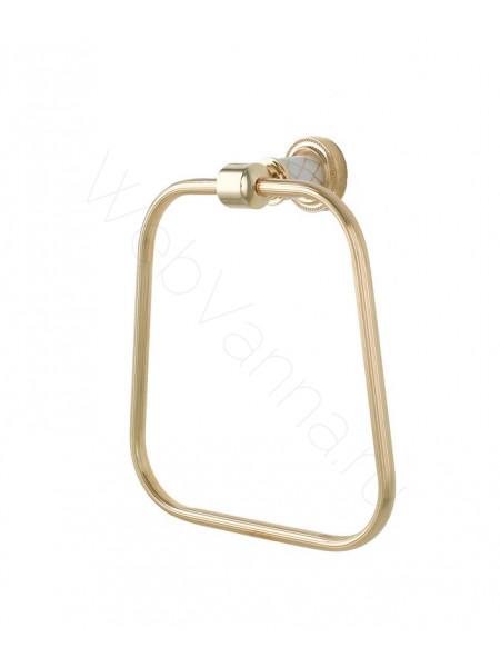 Держатель для полотенца (кругл.) Boheme Murano золото