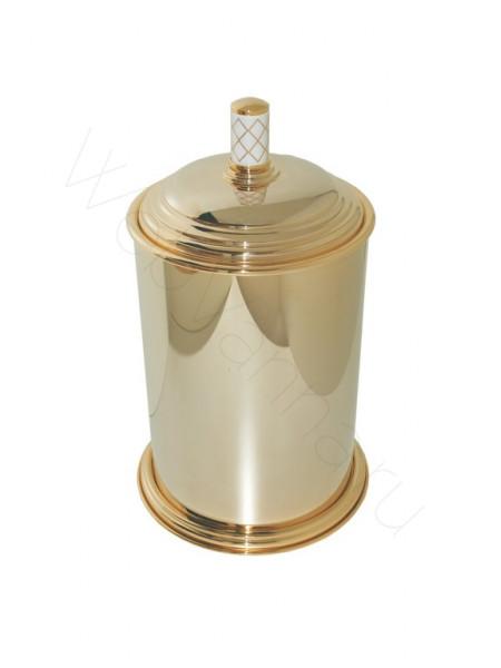 Ведро металл Boheme Murano золото