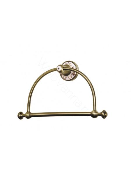 Держатель для полотенца (кругл.) Boheme Provanse бронза