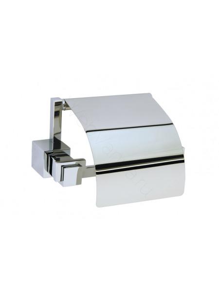 Держатель для туалетной бумаги с крышкой Boheme Venturo хром