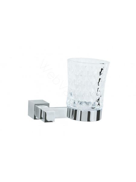 Стакан для зубных щеток Boheme Venturo хром