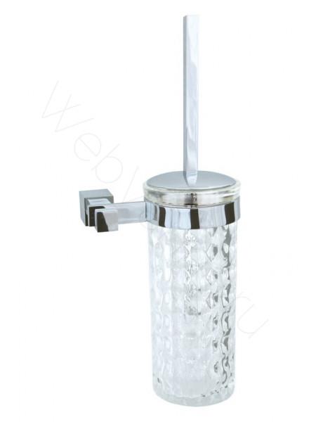 Ершик настенный (стекло) Boheme Venturo хром