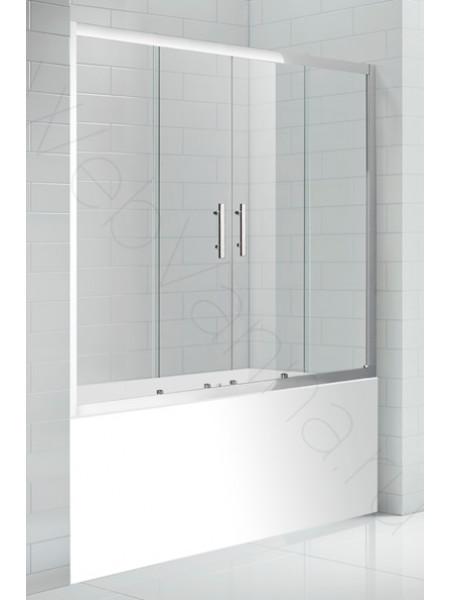 Шторка на ванну Cezares ECO 150 VF