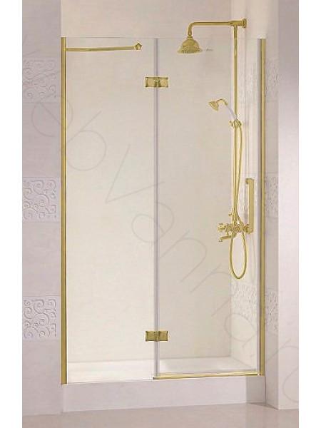 Душевая дверь Cezares MAGIC 100 B-12 GOLD L/R